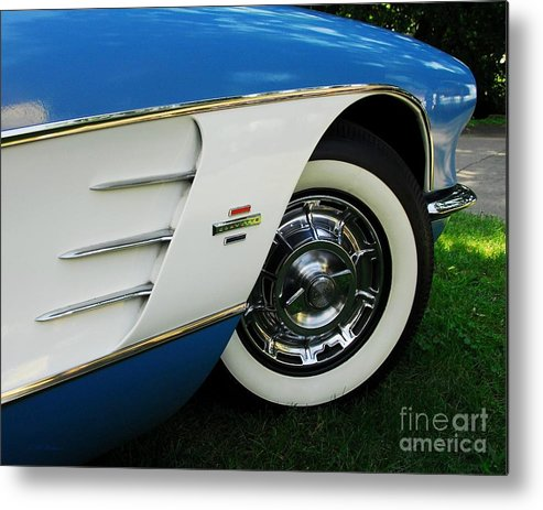 In Car Love Metal Print featuring the photograph In Car Love by Mel Steinhauer