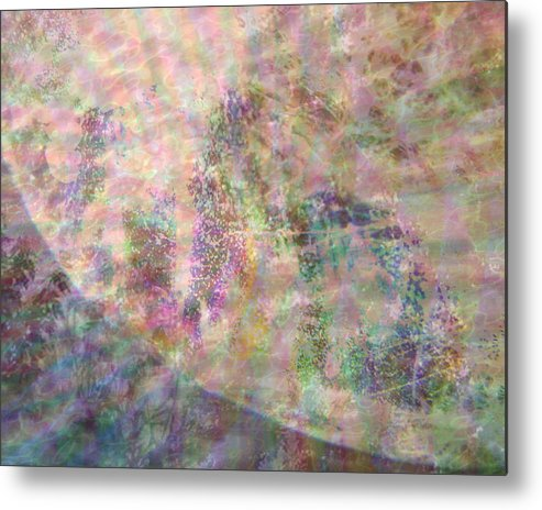 Lacunarity Metal Print featuring the digital art Lacunarity by Seventh Satellite
