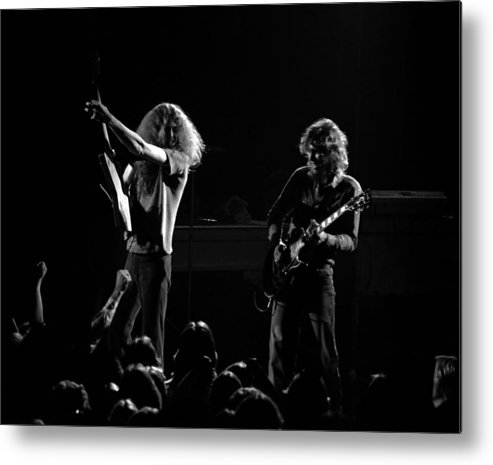 Lynyrd Skynyrd Metal Print featuring the photograph Ls Spo #18 by Ben Upham