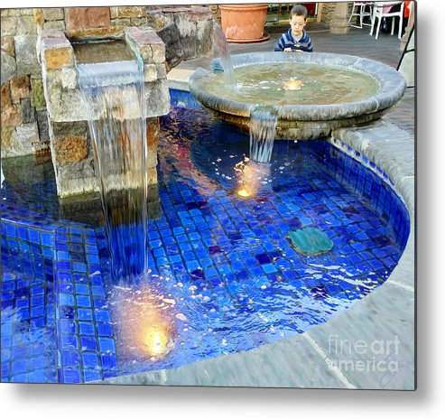 Make A Wish Metal Print featuring the mixed media Make A Wish by Glenn McNary
