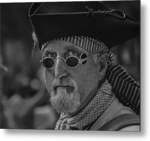 Parade Metal Print featuring the photograph Pirate by Mario Celzner