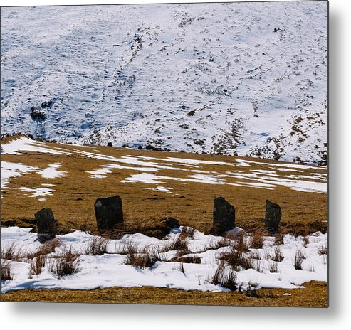 Landscape Metal Print featuring the photograph Standing Stone by Henry Beevers