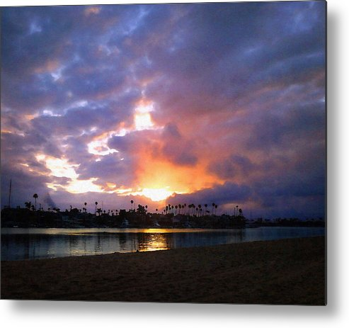 Naples Island Metal Print featuring the photograph Sunrise Over Naples Island by Timothy Bulone