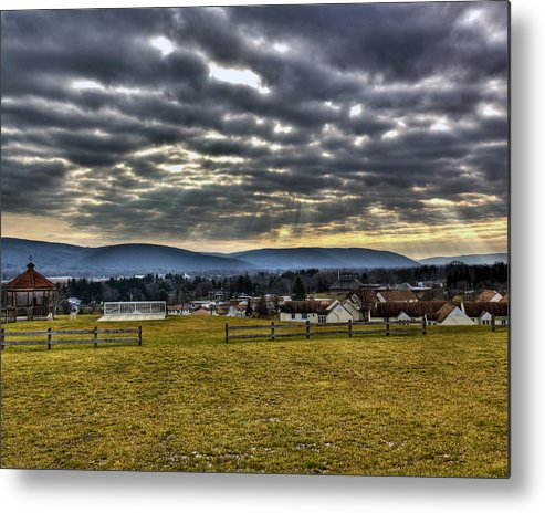 Horseheads Metal Print featuring the photograph The Perfect View by Tim Buisman