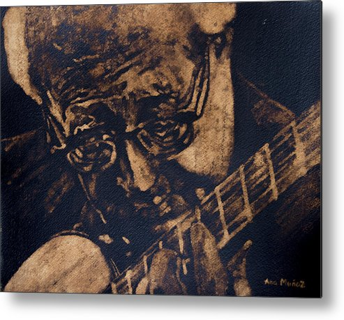 People Metal Print featuring the painting The Soloist by Ana Munoz