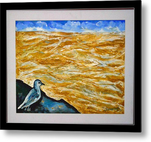 U.s Landscape Metal Print featuring the painting U.s.landscape by Anand Swaroop Manchiraju