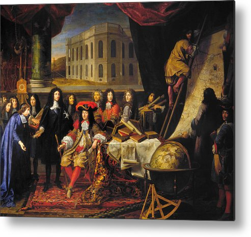 1666 Metal Print featuring the photograph Louis Xiv (1638-1715) by Granger