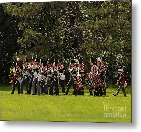 Siege Metal Print featuring the photograph Battle 12 by JT Lewis