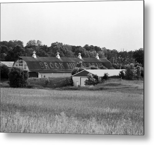 19th Century Farming Metal Print featuring the photograph Brook Hill Dairy Farm by Jan W Faul