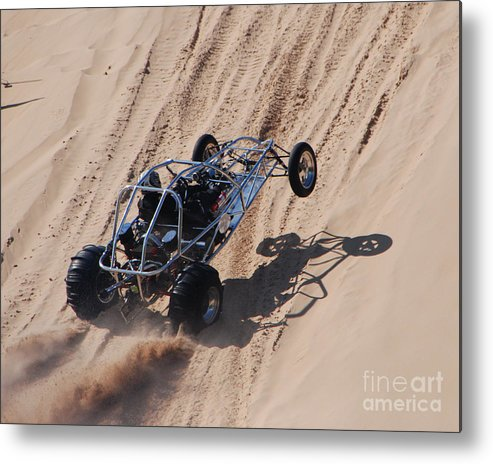 Dune Buggy Metal Print featuring the photograph Buggy Climb by Grace Grogan