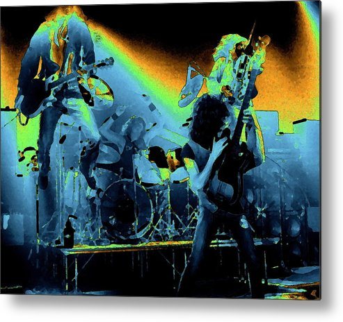 Derringer Metal Print featuring the photograph Cosmic Derringer Electrify Spokane 2 by Ben Upham