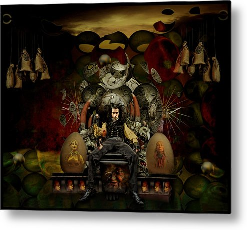 Symbolic Metal Print featuring the photograph El Mago by Raul Villalba