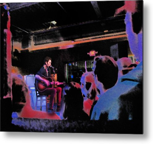 G Love Metal Print featuring the photograph G Love by David A Brown