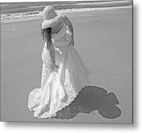 Topsail Metal Print featuring the photograph Gown Gathering by Betsy Knapp