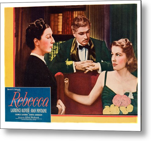 1940 Movies Metal Print featuring the photograph Rebecca, From Left Judith Anderson by Everett