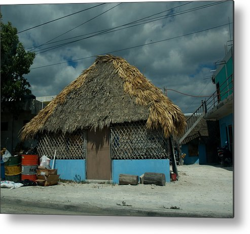 Mexico Metal Print featuring the photograph Shelter From The Storm by Barry Doherty