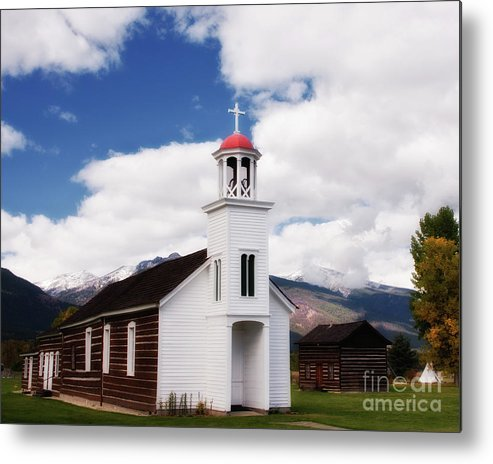 St. Mary Metal Print featuring the photograph St. Mary's Mission by Katie LaSalle-Lowery