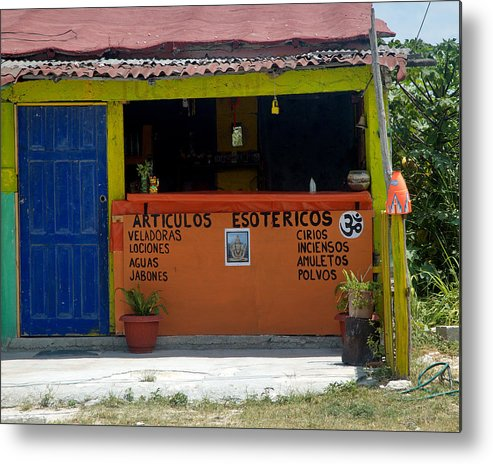 Mexico Metal Print featuring the photograph The Old Curiosity Shop by Barry Doherty