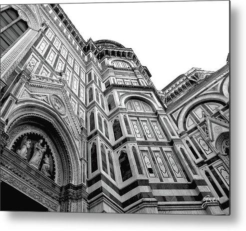 Duomo Metal Print featuring the photograph Duomo De Florencia by Royce A Owens