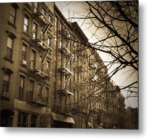 New York City Metal Print featuring the photograph New York by Patrick Flynn