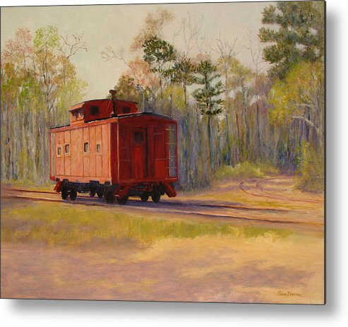 Metal Print featuring the painting Left Behind by Elaine Bigelow
