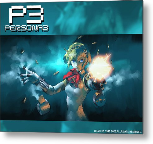 Persona Metal Print featuring the digital art Persona by Mery Moon