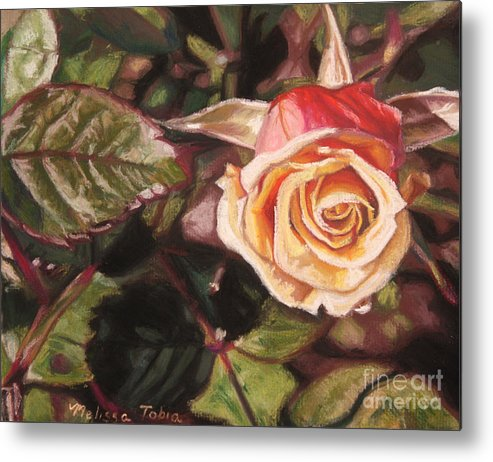 Botanical Metal Print featuring the painting A Summer Day by Melissa Tobia