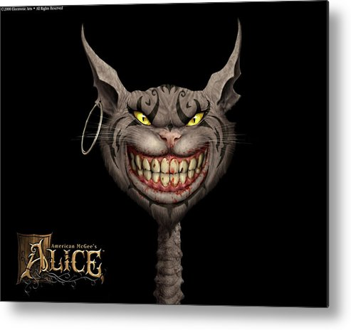 American Mcgee's Alice Metal Print featuring the digital art American Mcgee's Alice by Mery Moon