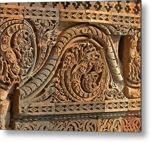 Wall Metal Print featuring the photograph Ancient Wall by Dorota Nowak