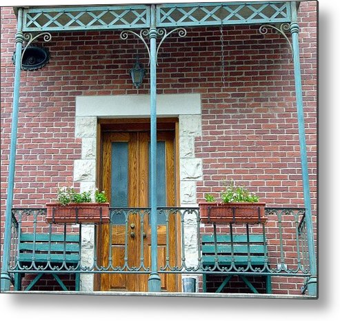 Architect Metal Print featuring the photograph Balcony by Kenna Westerman