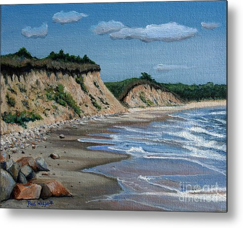 Beach Metal Print featuring the painting Beach by Paul Walsh