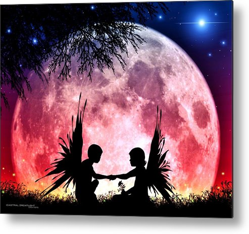 Fantasy Metal Print featuring the digital art Beloved by Dreamlight Creations