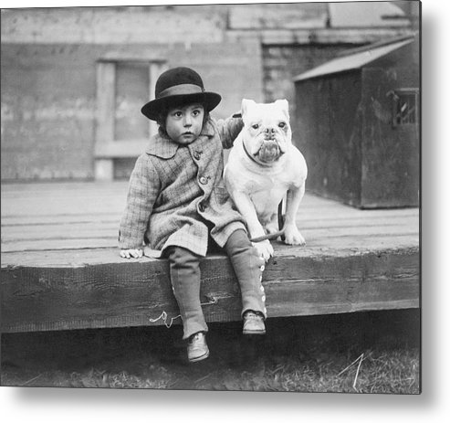2-3 Years Metal Print featuring the photograph Best Friends by Kirby