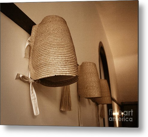 Bonnets Metal Print featuring the photograph Bonnets by Angie Bechanan