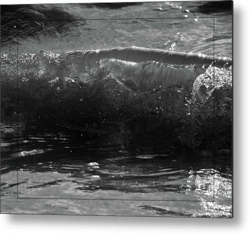 Waves Metal Print featuring the photograph Breach Inlet Morning Waves 1 by Melissa Wyatt