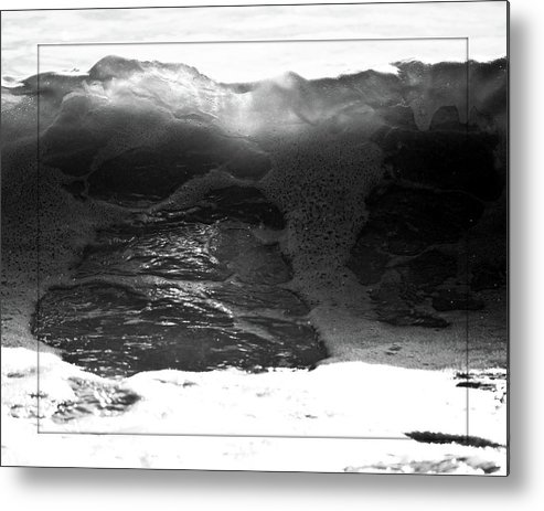 Metal Print featuring the photograph Breach Inlet Morning Waves 3 by Melissa Wyatt