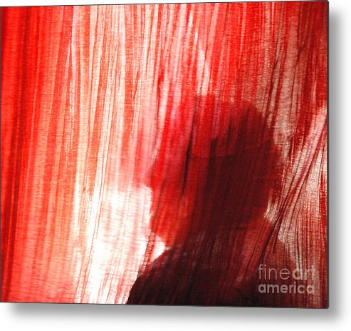 Light Metal Print featuring the photograph Break Through 03 - Dont Look Into The Light by Sean-Michael Gettys