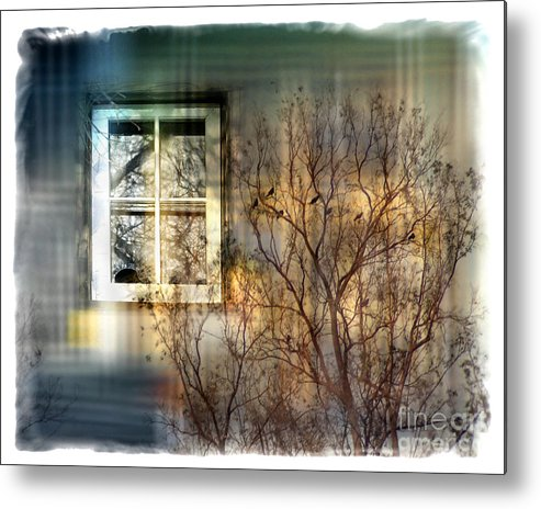 Tree Metal Print featuring the digital art Broken Dreams by Chuck Brittenham