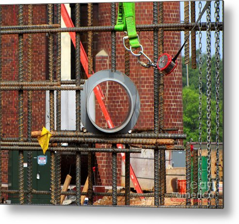 Rob Seel Metal Print featuring the photograph Center Sleeve by Robert M Seel