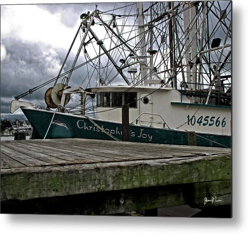 Metal Print featuring the photograph Christopher's Joy by Jim Turri