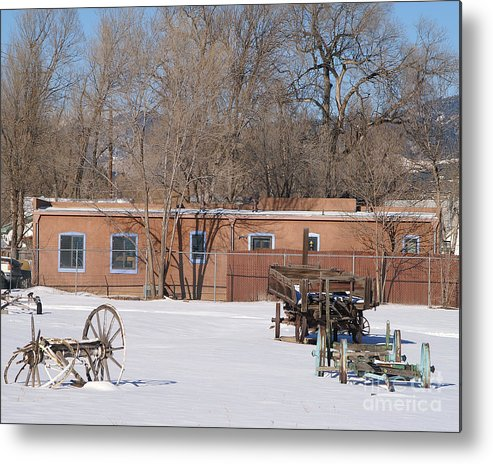 Building Metal Print featuring the photograph Cold Storage by Jack Norton