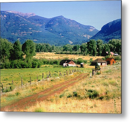 Colorado Metal Print featuring the photograph Colorado Ranch by Greg Taylor