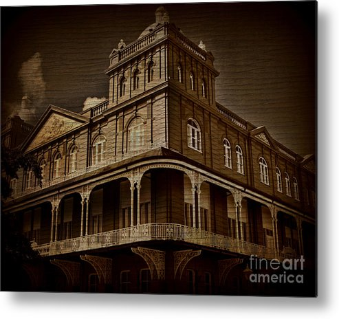 Building Metal Print featuring the photograph Corner Building by Perry Webster