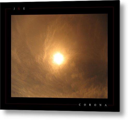 Sun Metal Print featuring the photograph Corona by Jonathan Ellis Keys