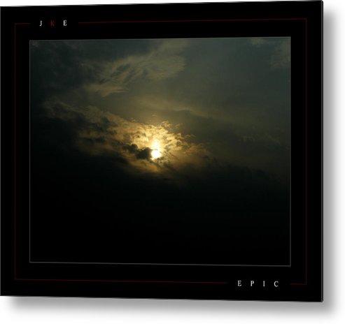Sun Metal Print featuring the photograph Epic by Jonathan Ellis Keys