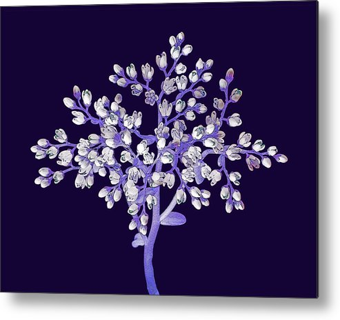 Flower Metal Print featuring the photograph Flower Tree by Digital Crafts