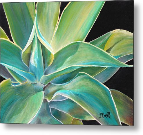 Agave Metal Print featuring the painting Foregone Conclusion by Laura Bell