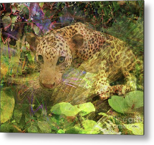Game Spotting Metal Print featuring the digital art Game Spotting by John Beck