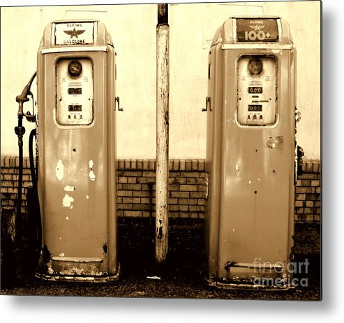 Old Metal Print featuring the photograph Good Old Days I by DazzleMe Photography
