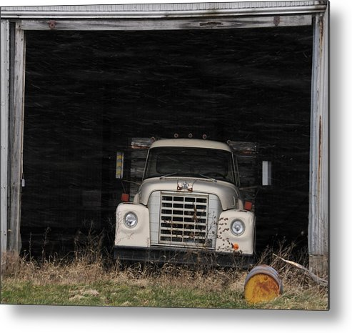 International Harvester Metal Print featuring the photograph International Truck by David Arment